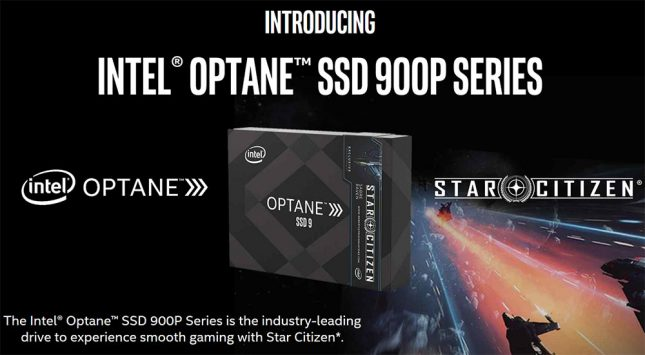 Intel Optrane SSD 900P