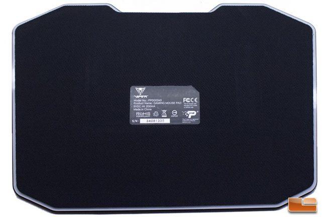 Viper Gaming LED Mouse Pad - Bottom
