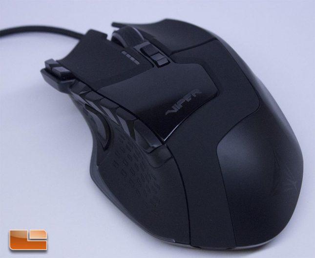 Viper V570 RGB Blackout - Top View