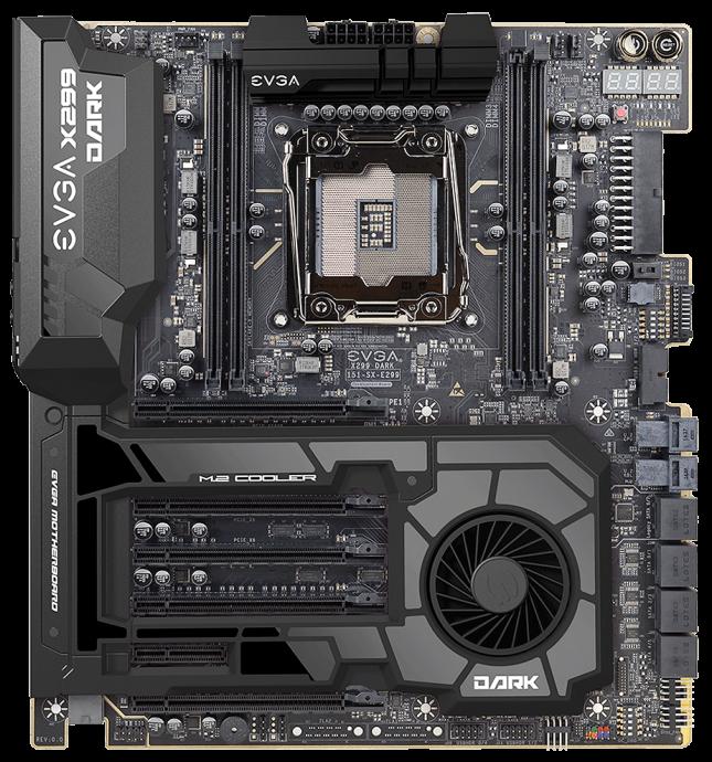EVGA X299 DARK Motherboard - Pre-Production Sample from June 2017