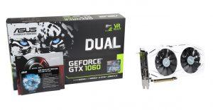 Dual series GeForce GTX 1060