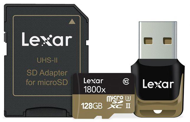 Lexar 1800x MicroSDXC