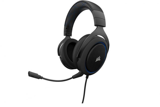 HS50 Stereo Gaming Headset - Blue
