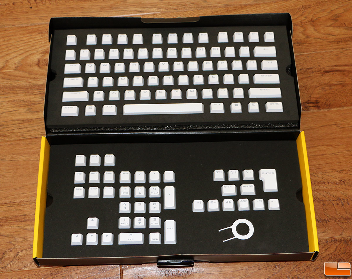 Corsair PBT Double-Shot Keycaps Review - Legit Reviews