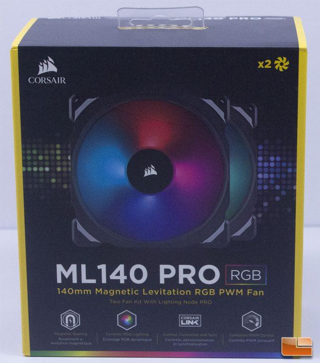 Corsair ML140 RGB - Retail Box