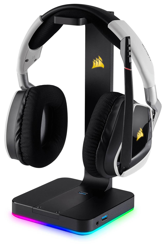 Corsair St100 Rgb Premium Gaming Headset Stand Review