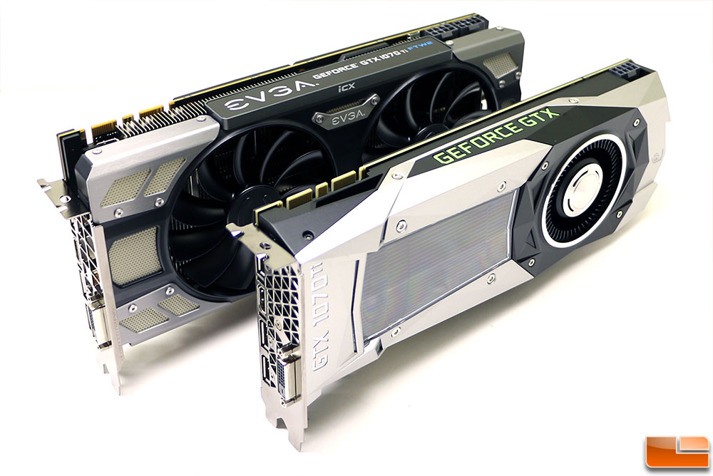GeForce GTX 1070 Ti Review with NVIDIA Founders Edition and EVGA