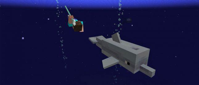 Minecraft Update Aquatic Brings Underwater Creatures