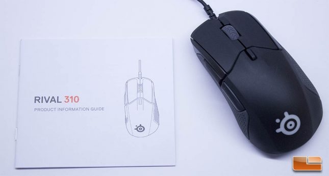 SteelSeries Rival 310 - Manual
