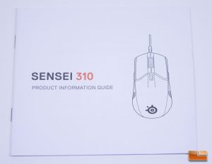 Sensei 310 - Product Manual