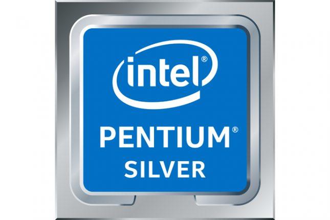 Intel Pentium Silver Processor Badge