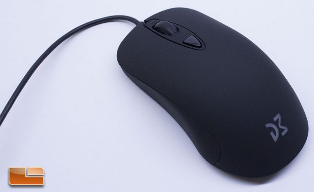 Dream Machine DM3 Mini - Ambidextrous Two Button Gaming Mouse