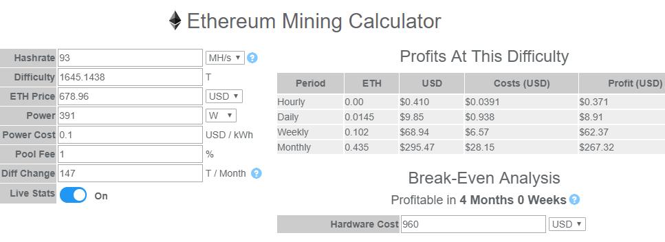 best ethereum miner