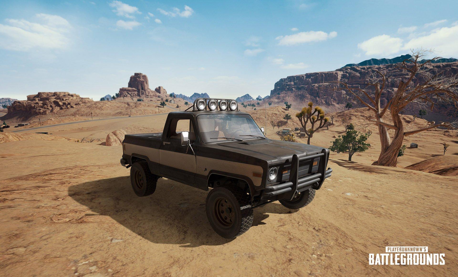 Pubg Buggy Wallpaper: PUBG Desert Map Miramar Gets New R45 Revolver To Replace