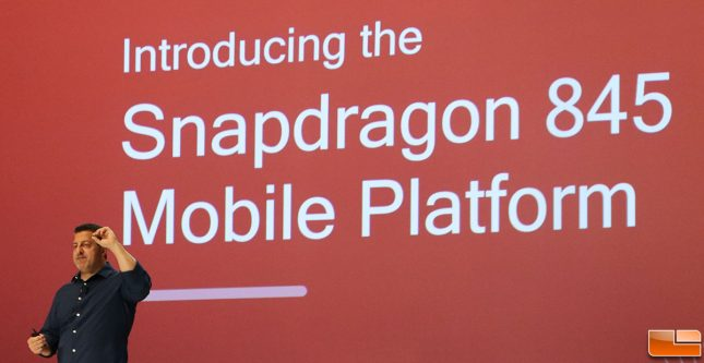 qualcomm snapdragon 845 SoC