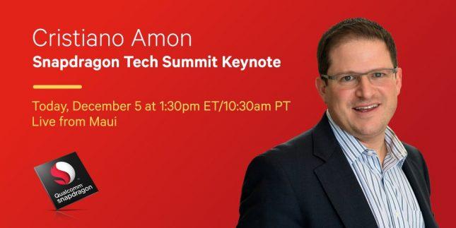 snapdragon tech summit keynote