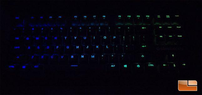 M750 TKL - RGB lighting