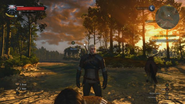 The Witcher 3 Xbox One X Update Lands