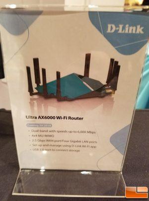 D-Link-Ultra-AX6000 @ CES