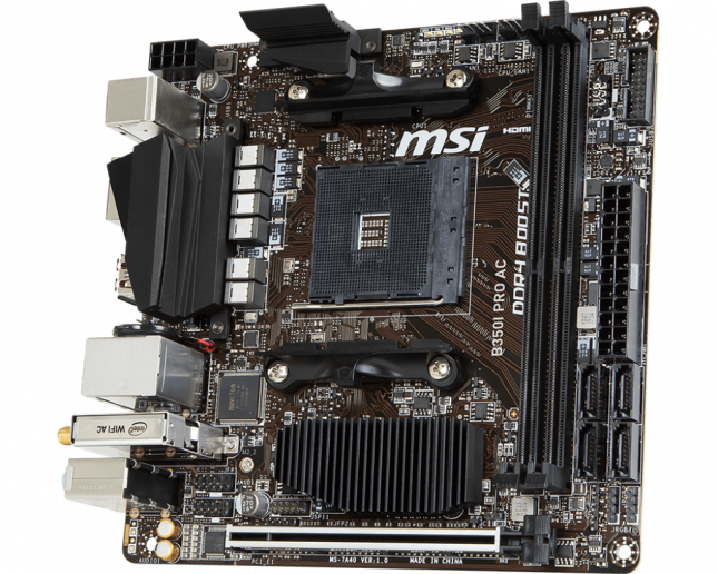 MSI B350I PRO AC Motherboard