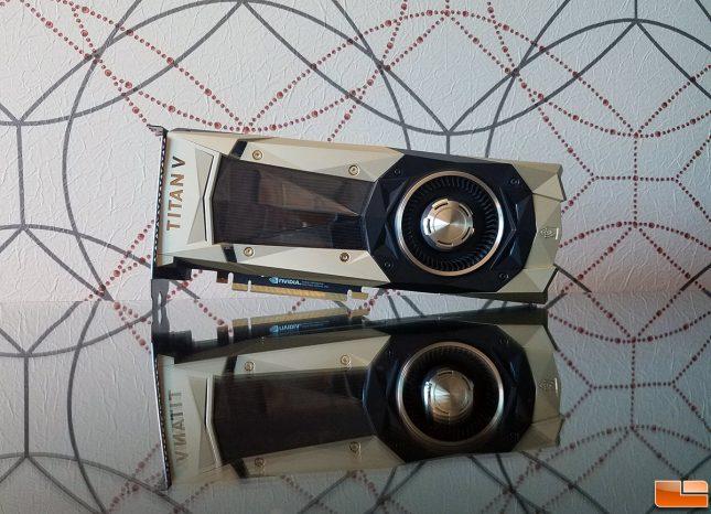 NVIDIA Titan V - Ethereum Mining