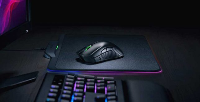 Razer HyperFlux Wireless Powered Mouse Debuts at CES 2018