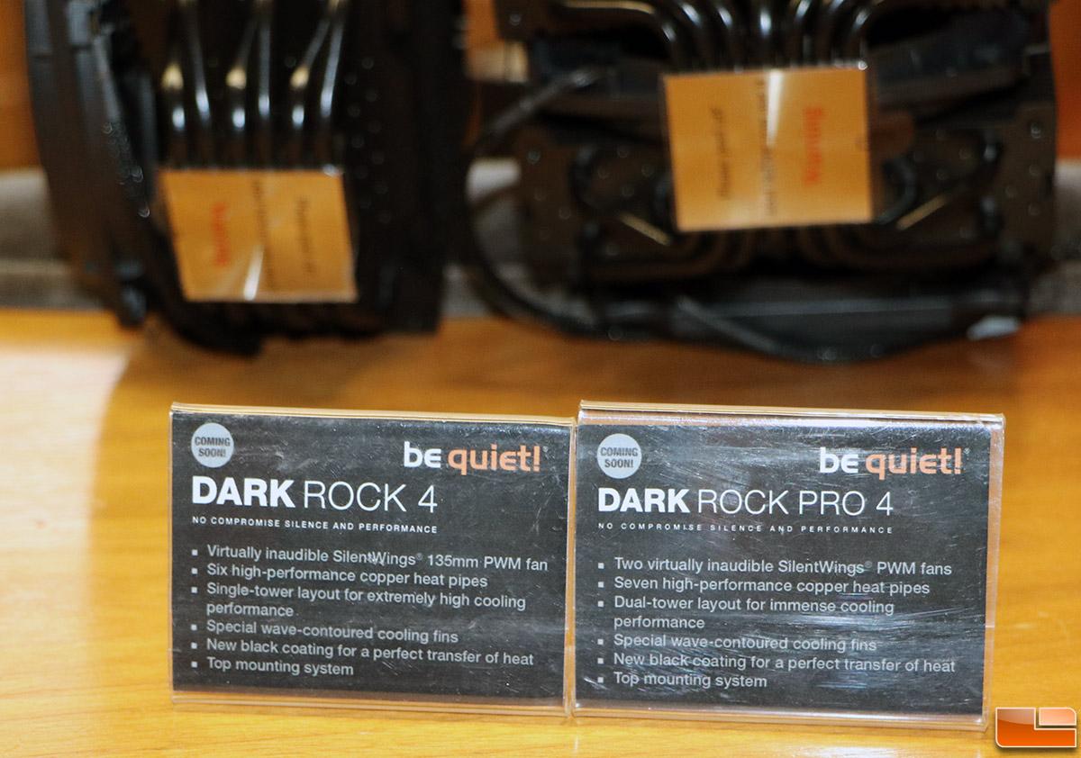 Be Quiet Dark Rock Pro 4 And Dark Rock 4 Cpu Coolers