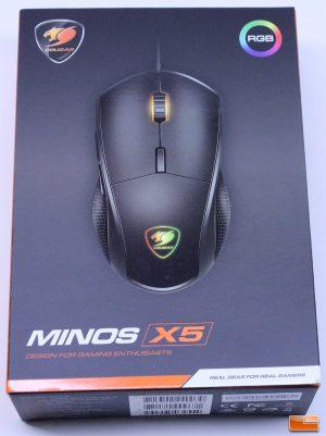 Cougar Minos X5 Gaming Mouse - Retail Box