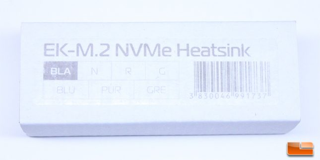 EKWB - M.2 NVMe Basic Retail Box