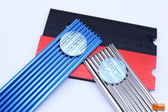 EKWB M.2 NVMe Heatsinks - Multiple Colors Available