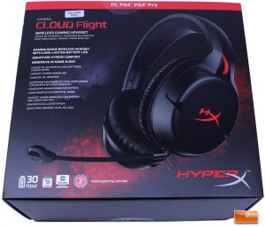 HyperX Cloud Flight - Box Front