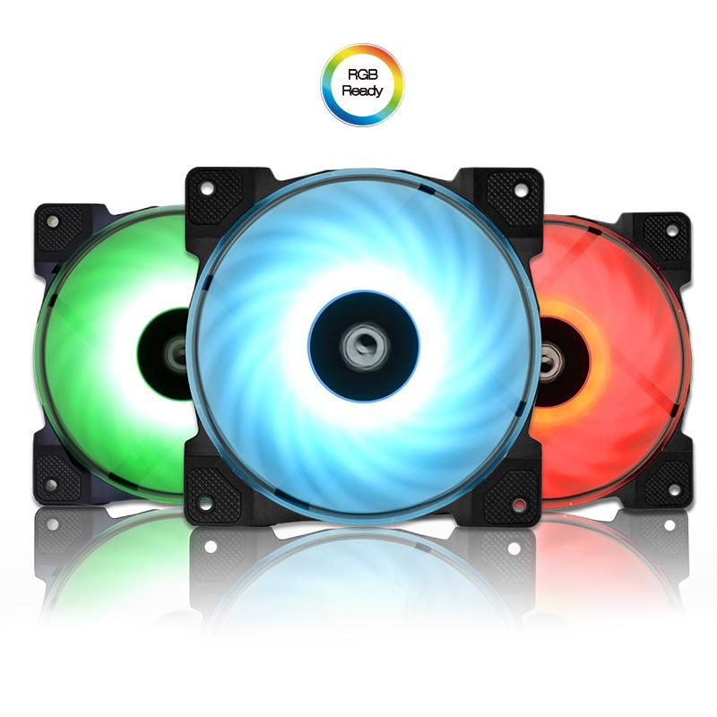 ID-Cooling SF-12025-RGB Trio Fan Kit Review - Legit ReviewsID
