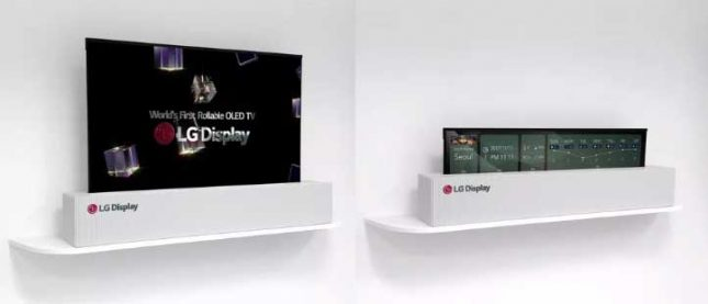 LG Display's Rollable OLED TV is a Thing of Dreams