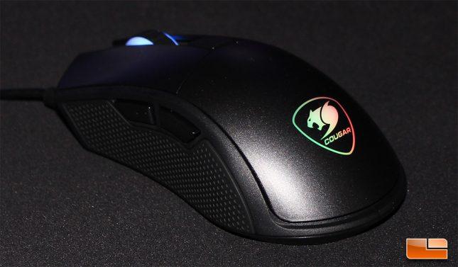 Cougar Minos X5 - Groovy RGB Effects