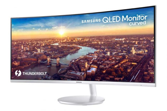 Samsung CJ791 34-inch Curved Thunderbolt 3 Display Heading to CES 2018