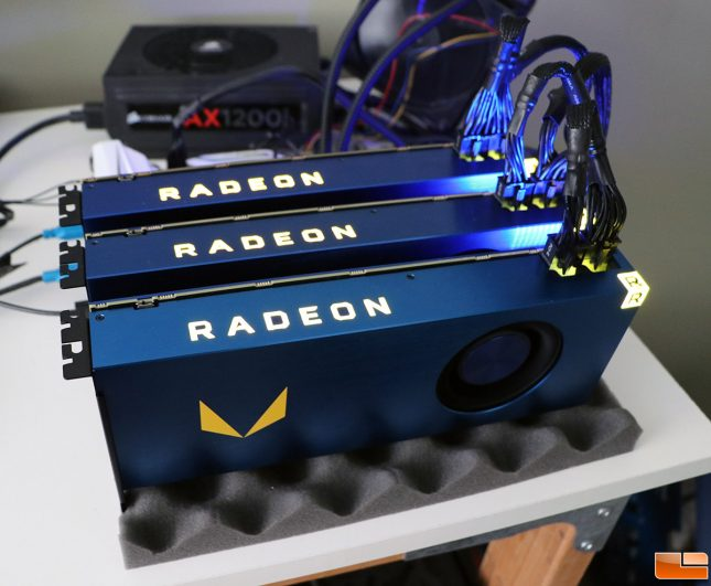 AMD Radeon VEGA FE Mining XMR
