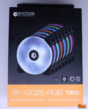 ID-Cooling RGB Trio Retail Box