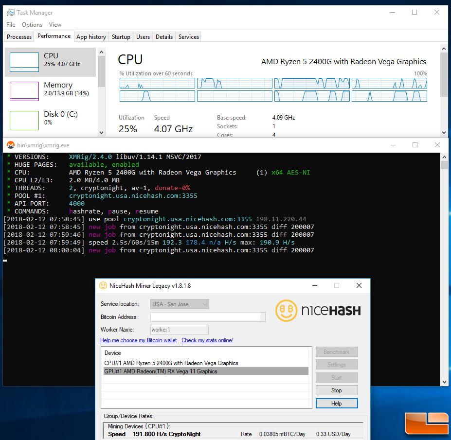 Ryzen 2400g Linux