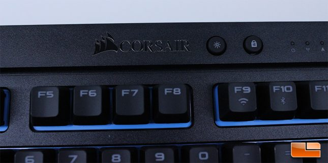 Corsair K63 Wireless - Corsair Logo