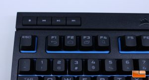Corsair K63 Wireless - Media Controls