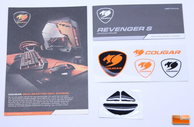 Cougar - Revenger S w/accessories