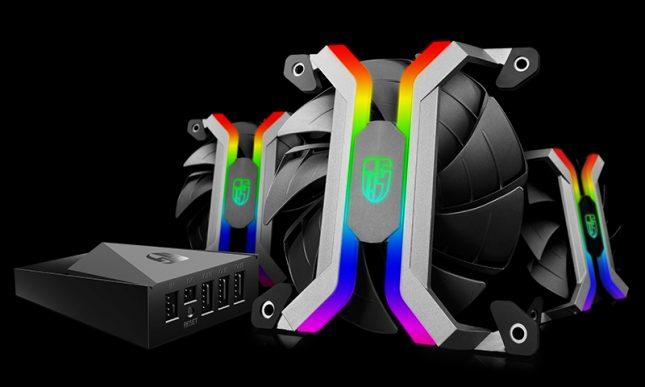 Deepcool MF120 RGB Fans w/Controller