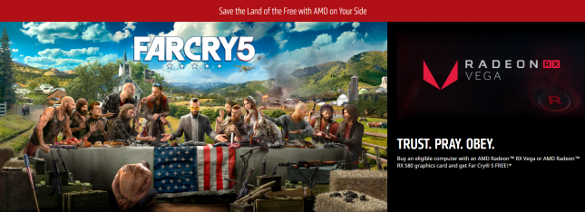 AMD Far Cry 5 Game Key Giveaway