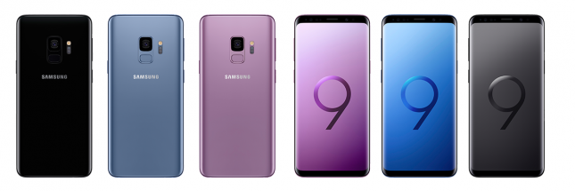 galaxy s9 family shot