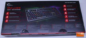 GSKill Ripjaws KM570 RGB - Rear of Retail Box