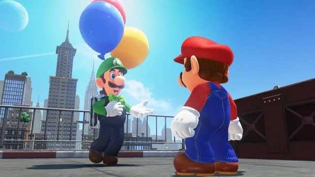 Super Mario Odyssey DLC Launches