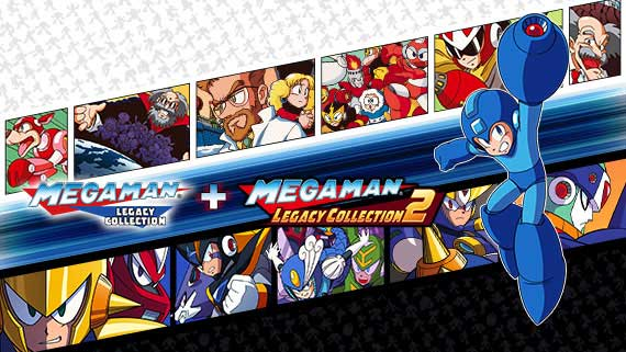Mega Man Legacy Collection 1 + 2 Lands on Switch May 22