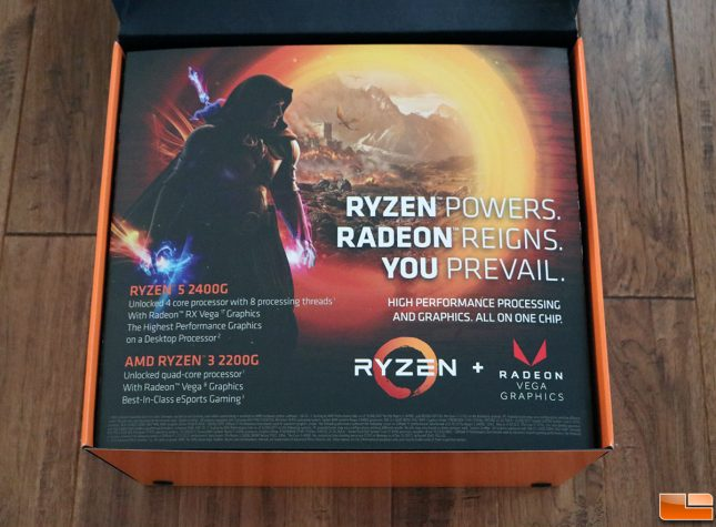 AMD Raven Ridge Box Cover