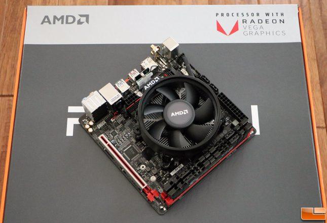 AMD Ryzen 5 2400G Raven Ridge Platform