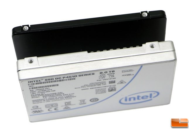 Intel SSD DC P4510 Thickness